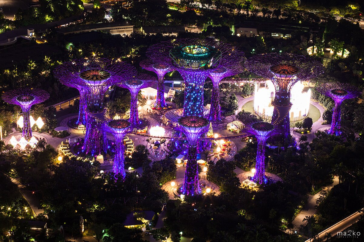 the transformation of singapore into a city in the garden